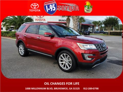 Pre-Owned 2017 Ford Explorer Limited FWD Sport Utility