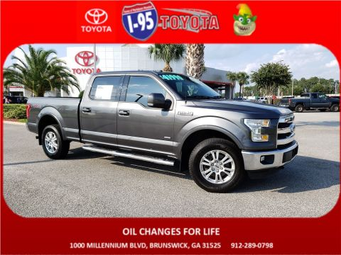 Pre-Owned 2016 Ford F-150 Lariat 4WD Crew Cab Pickup