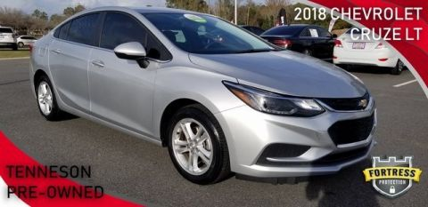 Pre-Owned 2018 Chevrolet Cruze LT FWD 4dr Car