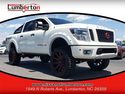 Certified Pre-Owned 2019 Nissan Titan PRO-4X 4WD Crew Cab Pickup