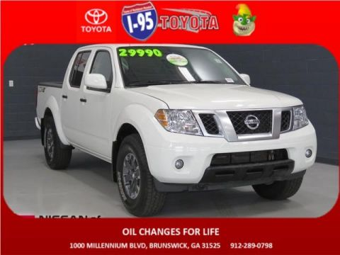 Pre-Owned 2019 Nissan Frontier PRO-4X 4WD Crew Cab Pickup
