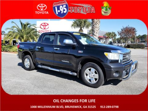 Pre-Owned 2007 Toyota Tundra LTD 4WD Crew Cab Pickup