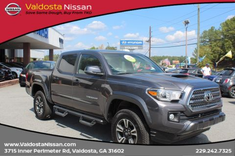 Pre-Owned 2017 Toyota Tacoma SR 4WD Crew Cab Pickup