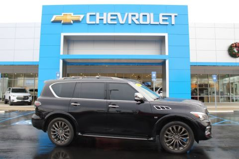 Pre-Owned 2016 INFINITI QX80 Limited AWD Sport Utility